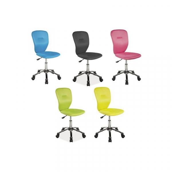 Scaun birou copii SL Q037 albastru 3