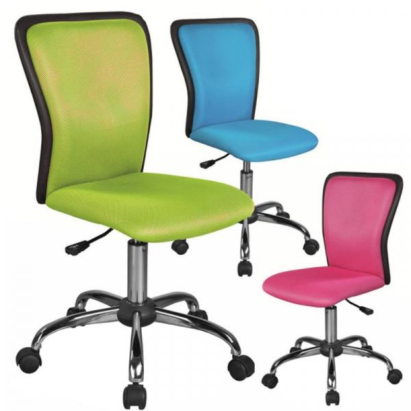 Scaun birou copii mesh SL Q099 roz 2