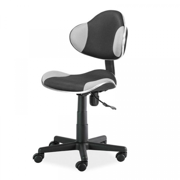 Scaun birou copii mesh SL QG2 gri - negru 0