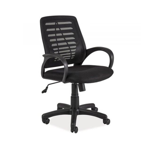 Scaun birou mesh SL Q073 negru