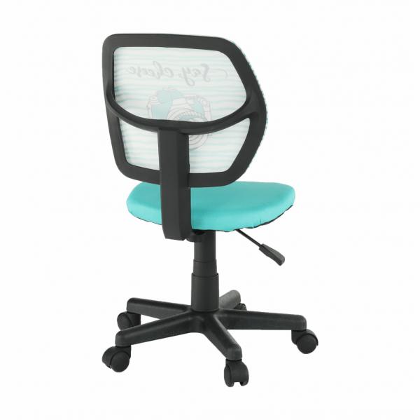 Scaun de birou rotativ tapitat BLUES 2