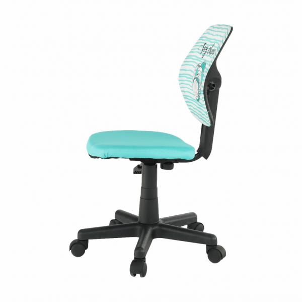 Scaun de birou rotativ tapitat BLUES [1]