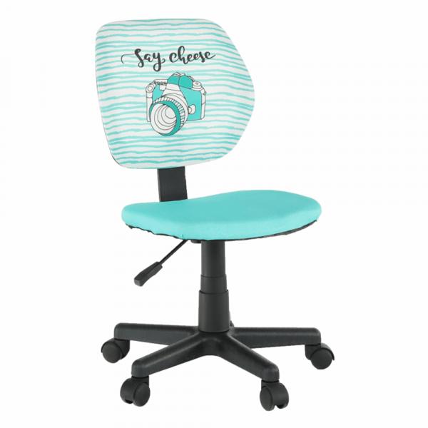 Scaun de birou rotativ tapitat BLUES 0
