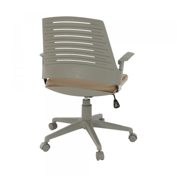 Scaun de birou rotativ tapitat DARIUS [2]