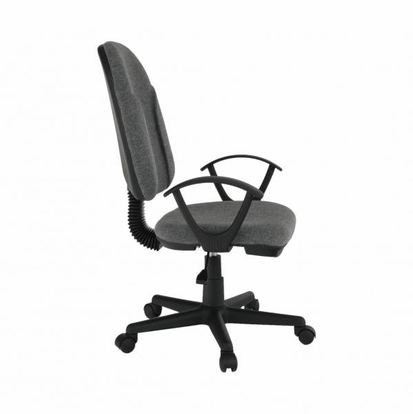 Scaun de birou tapitat rotativ DEVRI [1]