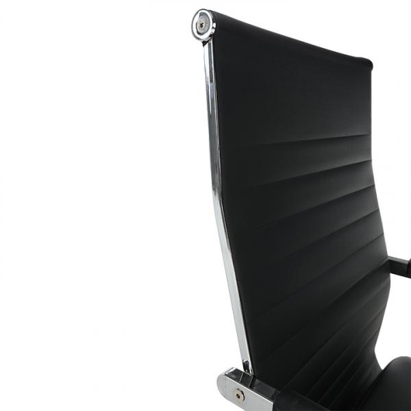 Scaun de birou rotativ tapitat FARAN 3
