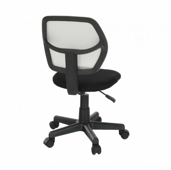 Scaun de birou rotativ tapitat MESH [2]