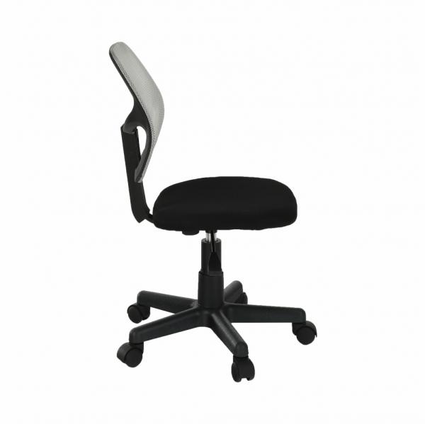Scaun de birou rotativ tapitat MESH [1]