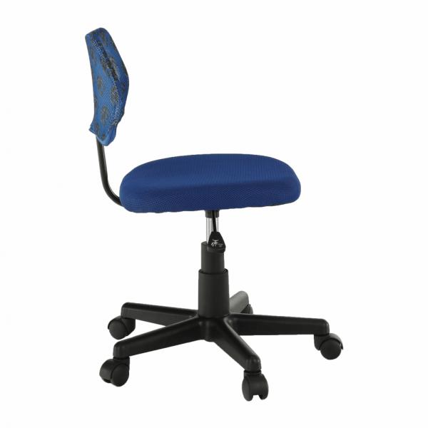 Scaun de birou rotativ tapitat PERCY [1]