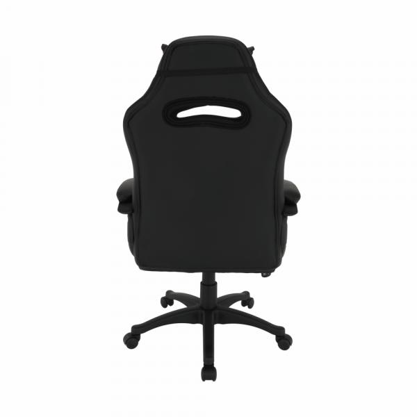 Scaun de gaming rotativ tapitat AGENA 1