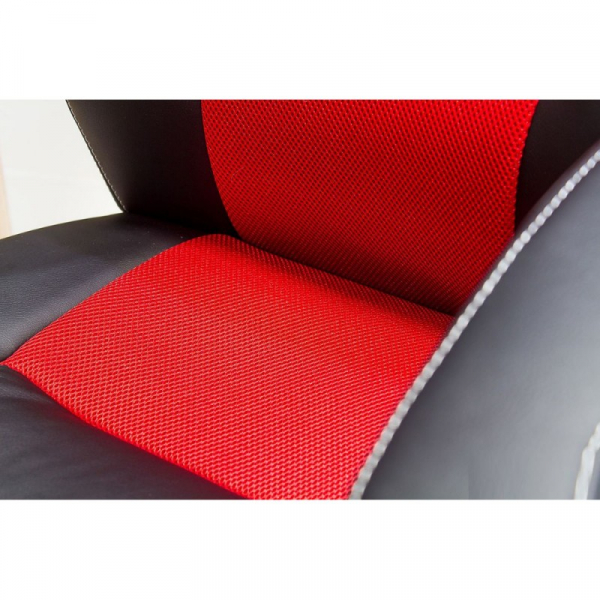 Scaun directorial SL Q107 negru - rosu 6