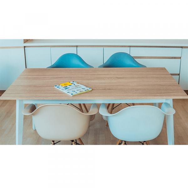 Scaun de dining din plastic DAMEN NEW 19