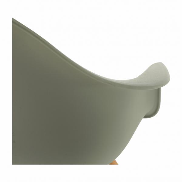 Scaun de dining din plastic DAMEN NEW 5