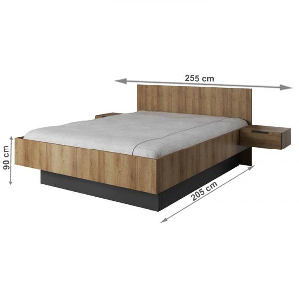 Set dormitor MANNO 3