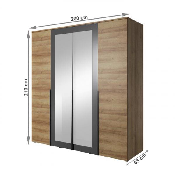 Set dormitor MANNO 2