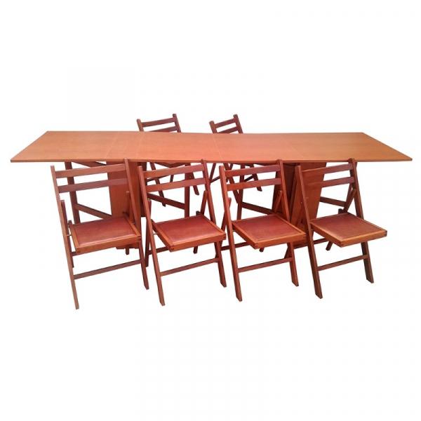 Set masa plianta de 12 persoane cires 0