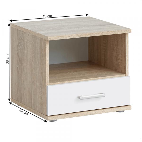Ansamblu mobilier dormitor EMIO 13