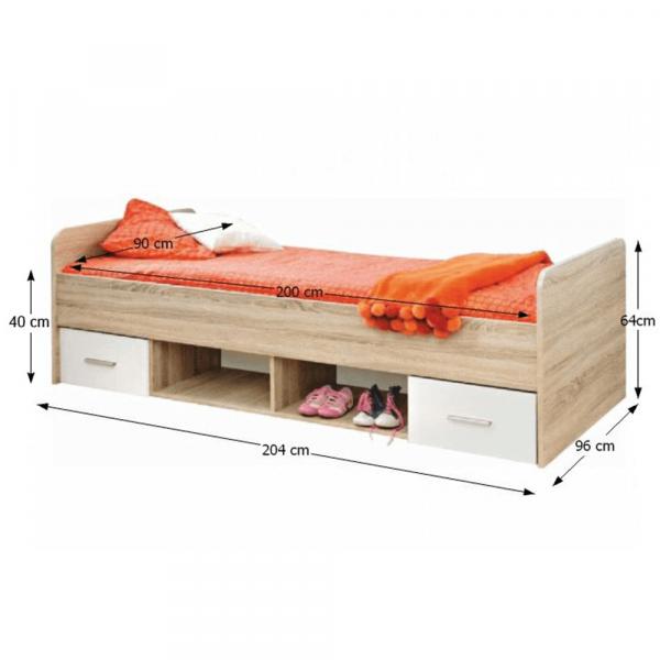 Ansamblu mobilier dormitor EMIO 16