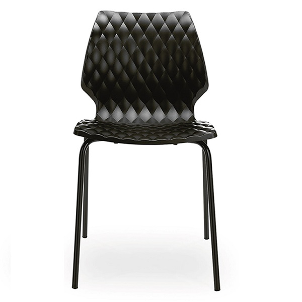 Set terasa outdoor masa CARDIFF OAK 70x70 cu scaune UNI 550 4