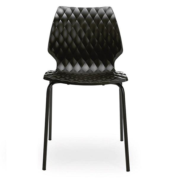 Set terasa outdoor masa CARDIFF URBAN SPRUCE 70x70 cu scaune UNI 550 2