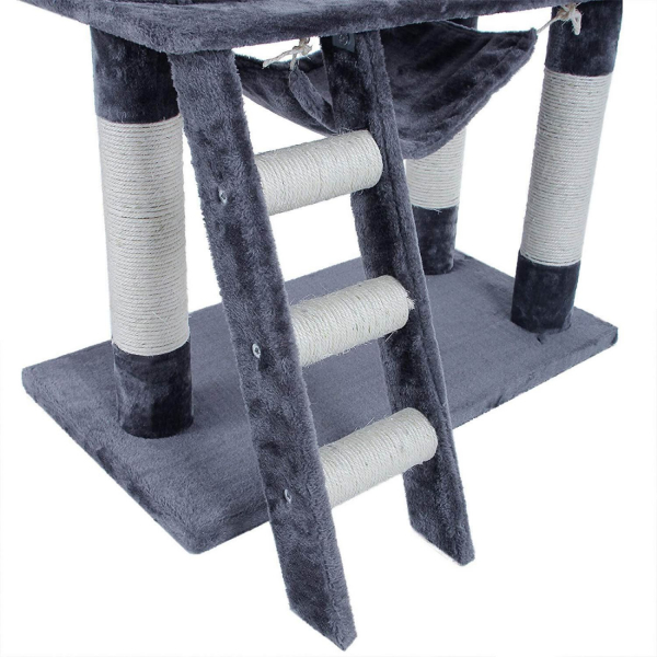 Ansamblu de joaca cu scara pentru pisici PCT63G 3