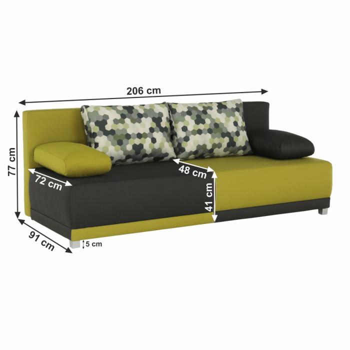 Canapea extensibila cu perne SPIKER [1]