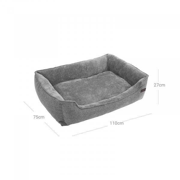 Pat lavabil mare pentru caini tesatura in PGW12GG 5