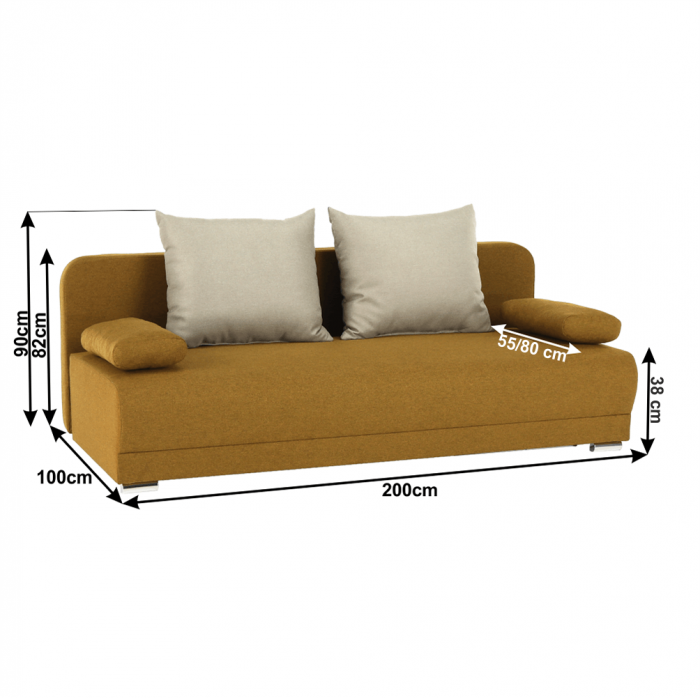 Canapea extensibila ZACA 1