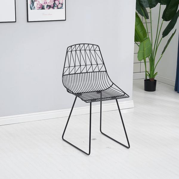 Set de gradina masa 2 scaune negru SAHIR [4]