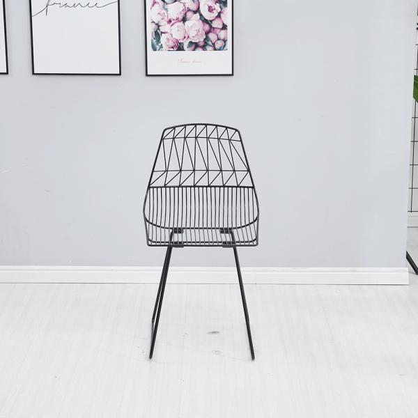 Set de gradina masa 2 scaune negru SAHIR [5]