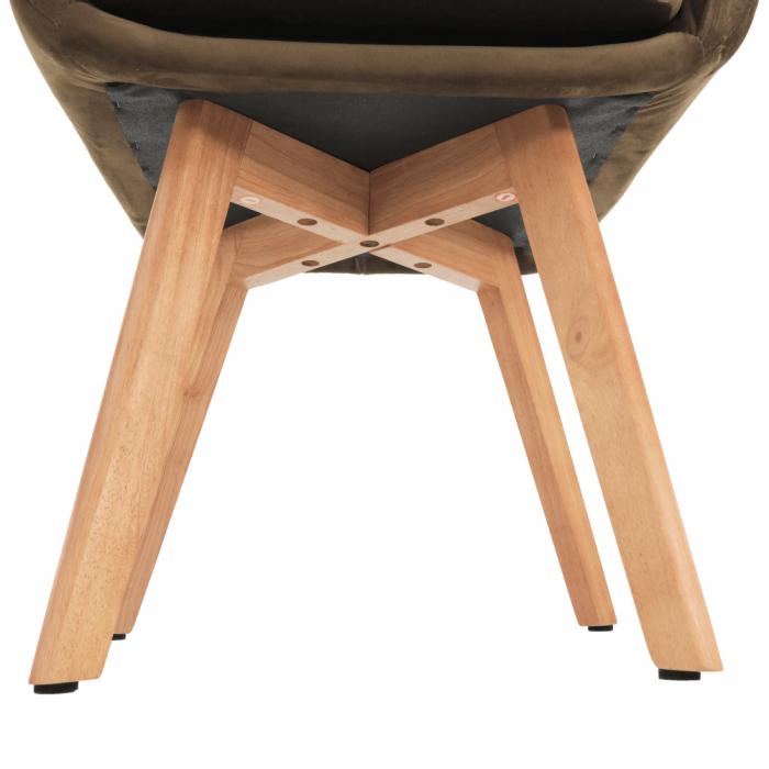 Fotoliu lemn tapitat ZERON 12