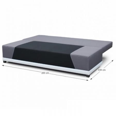 Canapea extensibila cu perne ROKAR4