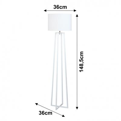 Lampa de podea alb QENNY TYP 161