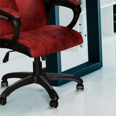 Scaun de birou rotativ tapitat MERSIN [5]