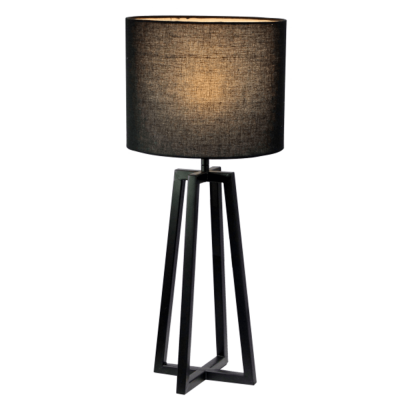 Lampa de masa negru QENNY 150