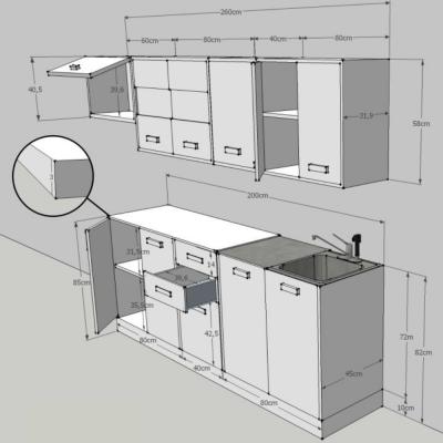 Ansamblu mobilier bucatarie PROMO [2]
