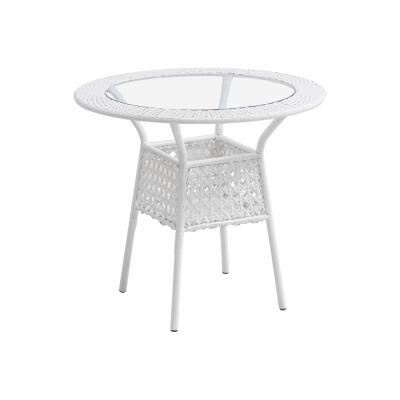 Set de gradina masa 4 scaune alb KOVEN [3]