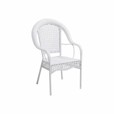 Set de gradina masa 4 scaune alb KOVEN [5]