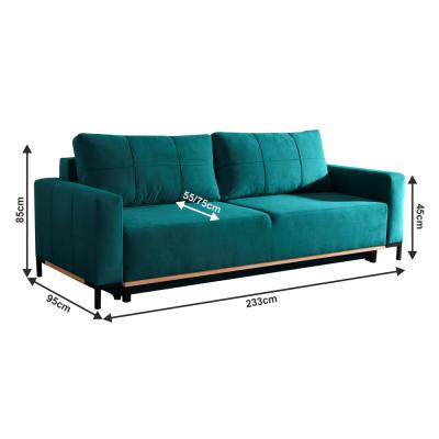 Canapea extensibila tapitata RAMOS [2]