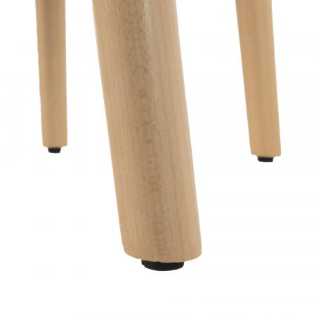 Fotoliu tapitat lemn DIPSY4