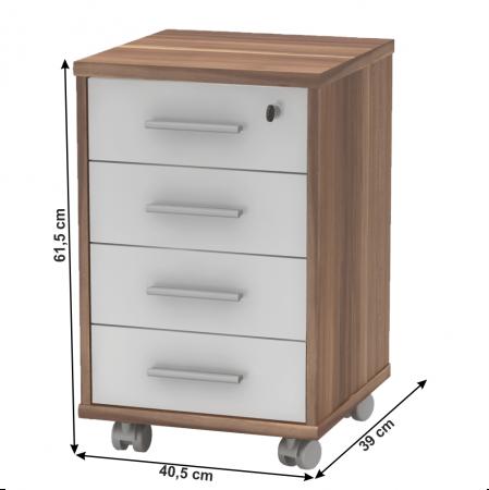 Dulap rollbox pentru birou JOHAN 2 NEW 12 [5]