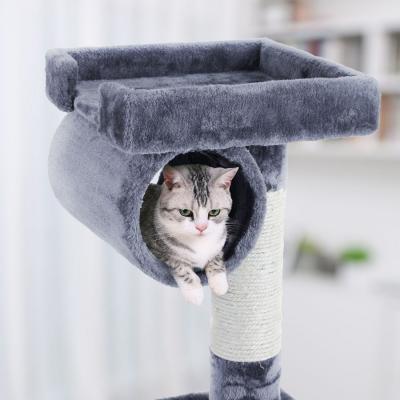 Ansamblu de joaca cu scara pentru pisici PCT63G2