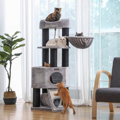 Ansamblu de joaca de lux pentru pisici PCT02W1