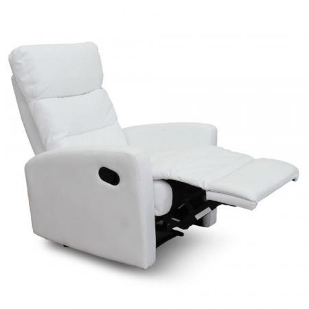 Fotoliu relaxare recliner imitatie piele SILAS2