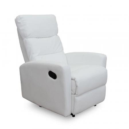 Fotoliu relaxare recliner imitatie piele SILAS0