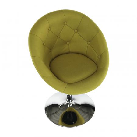 Fotoliu rotativ material textil GULEN2