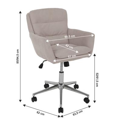 Fotoliu office rotativ tapitat KAILA [1]