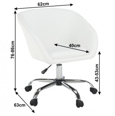 Fotoliu office rotativ tapitat LENER [4]