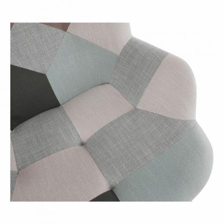 Fotoliu balansoar patchwork GERON16