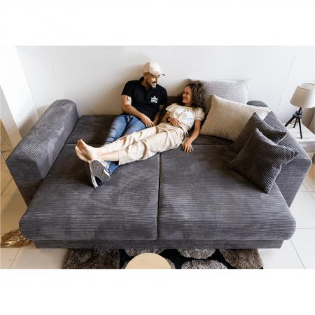 Canapea extensibila cu spatiu depozitare GILEN BIG SOFA [13]